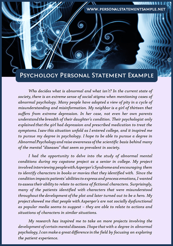 coursework for psychology degree