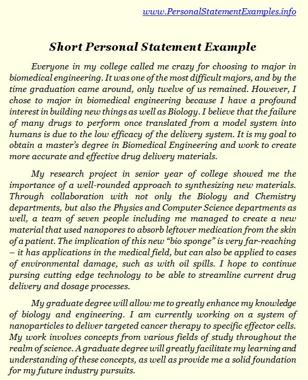 Professional Nursing Personal Statement Help