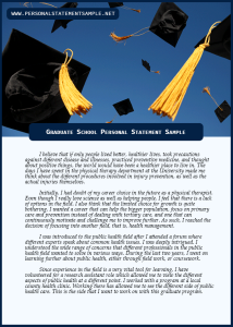 Graduate-School-Personal-Statement-Sample