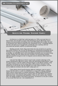 Architecture-Personal-Statement-Example