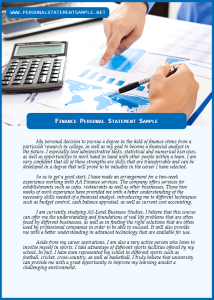 Finance-Personal-Statement-Sample