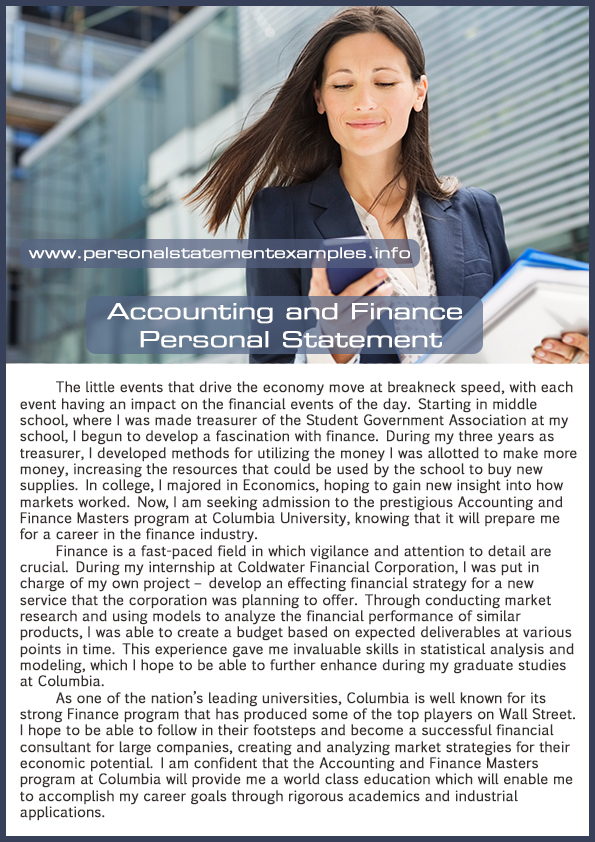 personal statement for accounting and finance cv Are you considering applying for a placement year or work experience read on for an expert guide and template for writing a placement cv .